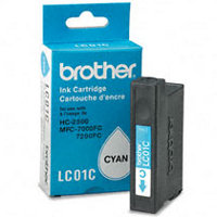 Brother LC-01C Cyan Discount Ink Cartridge