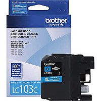 Brother LC103C Discount Ink Cartridge