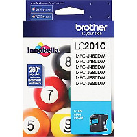 Brother 201C Discount Ink Cartridge