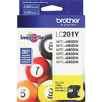 Brother 201Y Discount Ink Cartridge