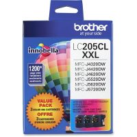 Brother LC2053PKS Discount Ink Cartridges Value Pack