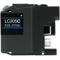 Compatible Brother LC-205C ( LC205C ) Cyan Discount Ink Cartridge