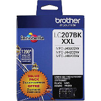 Brother LC2072PKS Discount Ink Cartridges (2/Pack)