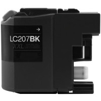 Compatible Brother LC-207BK ( LC207BK ) Black Discount Ink Cartridge