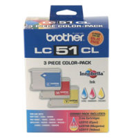Brother LC513PKS Discount Ink Cartridges (3/Pack)