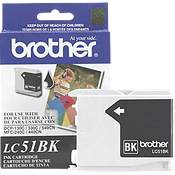 Brother LC51BK ( Brother LC-51BK ) Discount Ink Cartridge