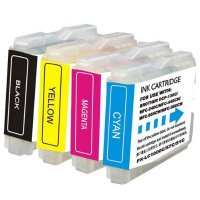 Brother LC51BK / LC51C / LC51M / LC51Y Compatible Discount Ink Cartridge Multipack