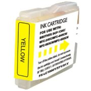 Compatible Brother LC-51Y ( LC51Y ) Yellow Discount Ink Cartridge