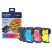 Brother LC613PKS Discount Ink Cartridges (3/Pack)