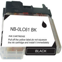 Brother LC61BK Compatible Discount Ink Cartridge