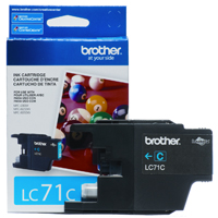 Brother LC71C ( Brother LC-71C ) Discount Ink Cartridge