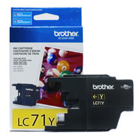 Brother LC71Y ( Brother LC-71Y ) Discount Ink Cartridge