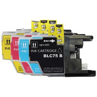 Brother LC75BK / LC75C / LC75M / LC75Y Compatible Discount Ink Cartridge Multi-Pack