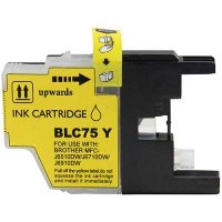 Brother LC75Y Compatible Discount Ink Cartridge