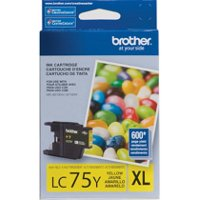 Brother LC75Y ( Brother LC-75Y ) Discount Ink Cartridge