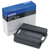 OEM Brother PC-101 ( PC101 ) Black Thermal Transfer Fax Ribbon