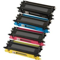 Brother TN-115BK / TN-115C / TN-115M / TN-115Y Compatible Laser Cartridge MultiPack