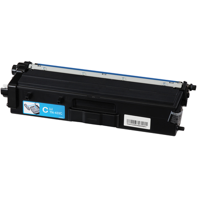 Compatible Brother TN-433C ( TN433C ) Cyan Laser Cartridge