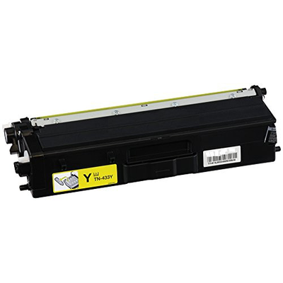 Compatible Brother TN-433Y ( TN433Y ) Yellow Laser Cartridge