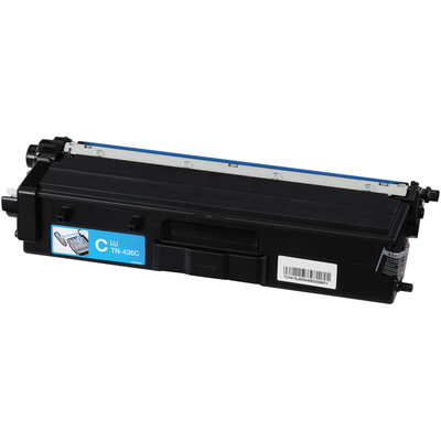 Compatible Brother TN-436C ( TN436C ) Cyan Laser Cartridge