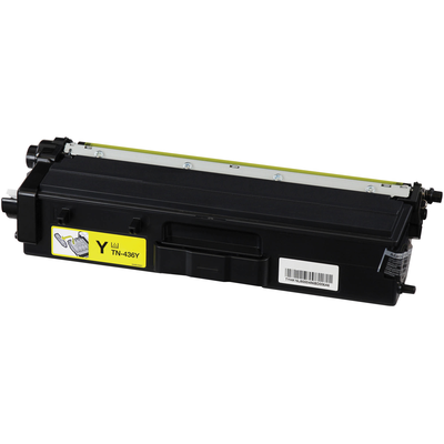 Compatible Brother TN-436Y ( TN436Y ) Yellow Laser Cartridge