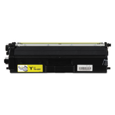 Compatible Brother TN-439Y ( TN439Y ) Yellow Laser Cartridge