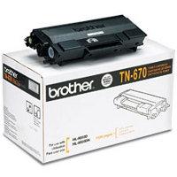 Brother TN-670 Black High Capacity Laser Cartridge ( Brother TN670 )