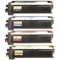 Brother TN210BK / TN210C / TN210M / TN210Y Compatible Laser Cartridge MultiPack