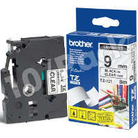 Brother TZ121 ( Brother TZ-121 ) P-Touch Tapes (10/Pack)