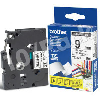 Brother TZ221 ( Brother TZ-221 ) P-Touch Tapes (10/Pack)