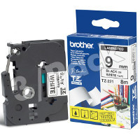 Brother TZ221 ( Brother TZ-221 ) P-Touch Tapes (3/Pack)