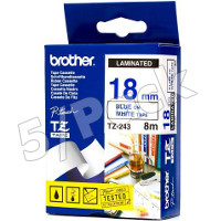 Brother TZ243 ( Brother TZ-243 ) P-Touch Tapes (5/Pack)