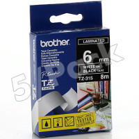 Brother TZ315 ( Brother TZ-315 ) P-Touch Tapes (5/Pack)