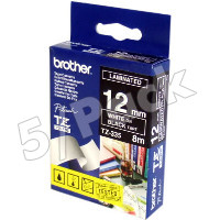 Brother TZ335 ( Brother TZ-335 ) P-Touch Tapes (5/Pack)