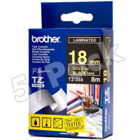 Brother TZ344 ( Brother TZ-344 ) P-Touch Tapes (5/Pack)