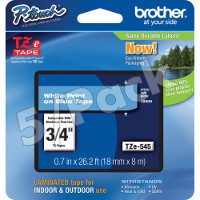 Brother TZ545 ( Brother TZ-545 ) P-Touch Tapes (5/Pack)