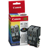 Canon BC-21e Color BubbleJet Dual Printhead Discount Ink Cartridge