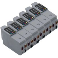 Canon BCI-21 Compatible Color Discount Ink Cartridges (6/Pack)
