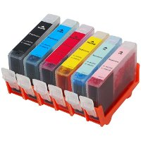 Set of 6 Canon Compatible Discount Ink Cartridges