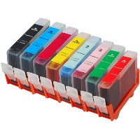Set of 8 Canon Compatible Discount Ink Cartridges
