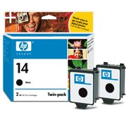 Hewlett Packard HP C9330FN ( HP 14d Twinpack ) Discount Ink Cartridge Twin Pack