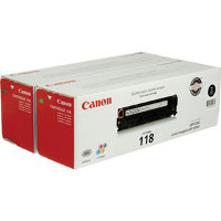 Canon 2662B004AA ( Canon 118 Black ) Laser Cartridge Twin Pack