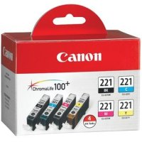 Canon 2946B004 ( Canon CLI-221 ) Discount Ink Cartridges MultiPack