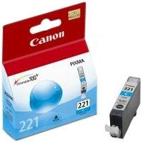 Canon 2947B001 ( Canon CLI-221 Cyan ) Discount Ink Cartridge