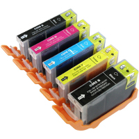 Canon 2945B001 / 2946B001 / 2947B001 / 2948B001 / 2949B001 (PGI-220 / CLI-221) Compatible Discount Ink Cartridges
