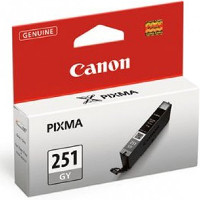 Canon 6517B001 ( Canon CLI-251GY ) Discount Ink Cartridge