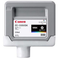 Canon 6656B001 ( Canon PFI-306MBK ) Discount Ink Cartridge
