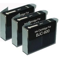 Canon BJI-201BK ( Canon BJI201BK) Compatible Black Discount Ink Cartridges (3/Pack)
