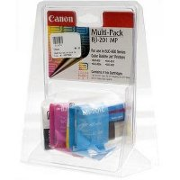 Canon BJI-201MP Multi-Pack Color 4 Discount Ink Cartridges