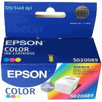 Epson S020089 Color Discount Ink Cartridge